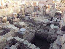 Zone centrale du Grand Temple d'Amon-Rê à Karnak